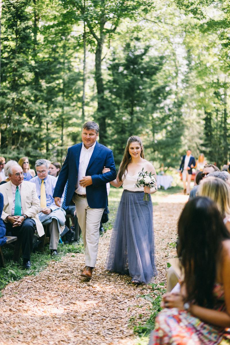 Beach and Forest Island Wedding