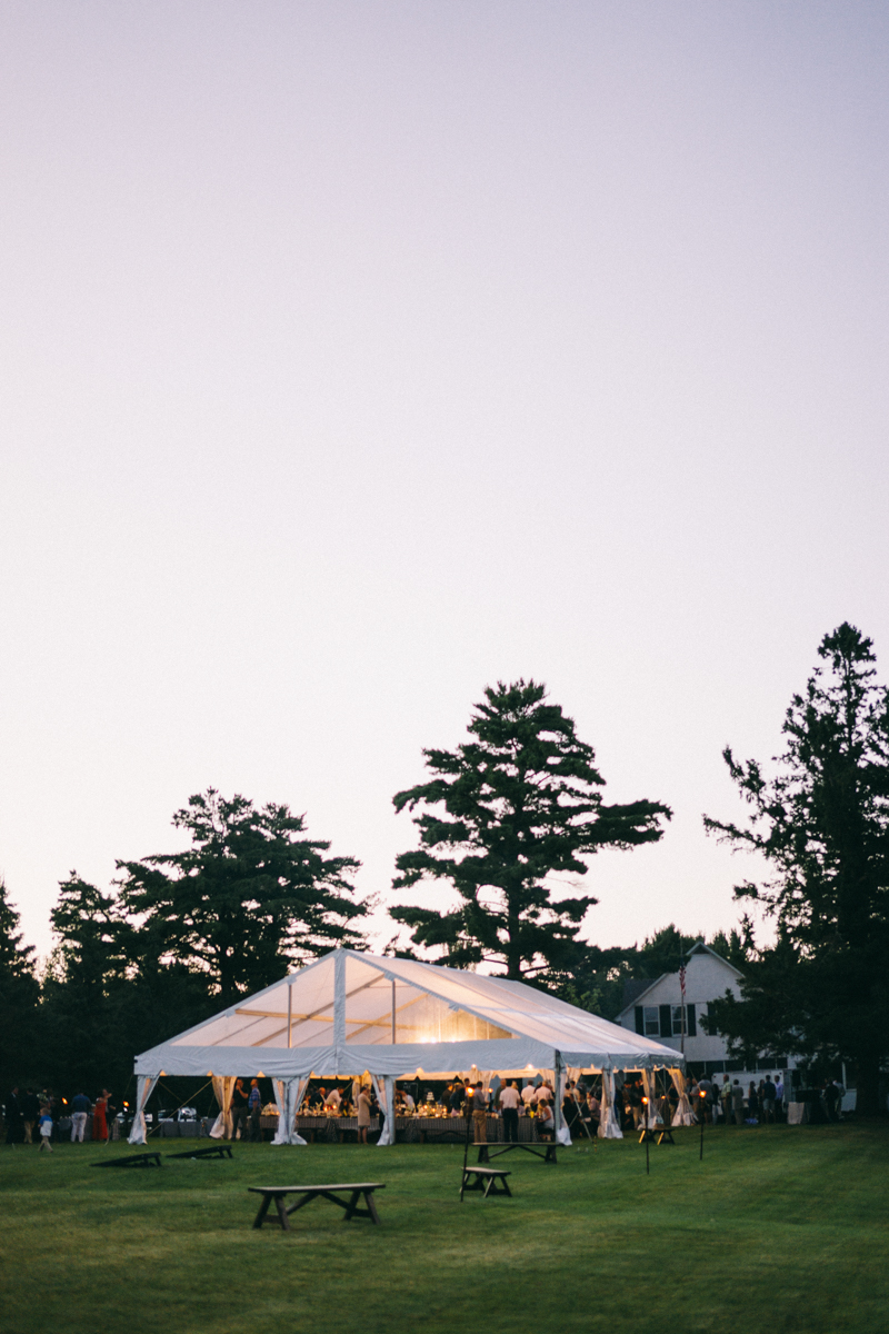 Island Tented Rehearsal Dinner