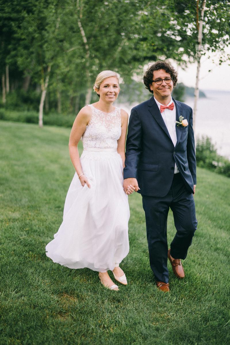 The Edge in Lincolnville Maine Private Estate Wedding