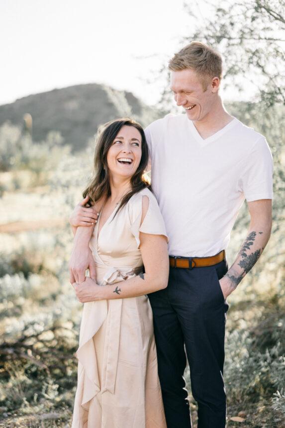 scottsdale arizona engagement photos