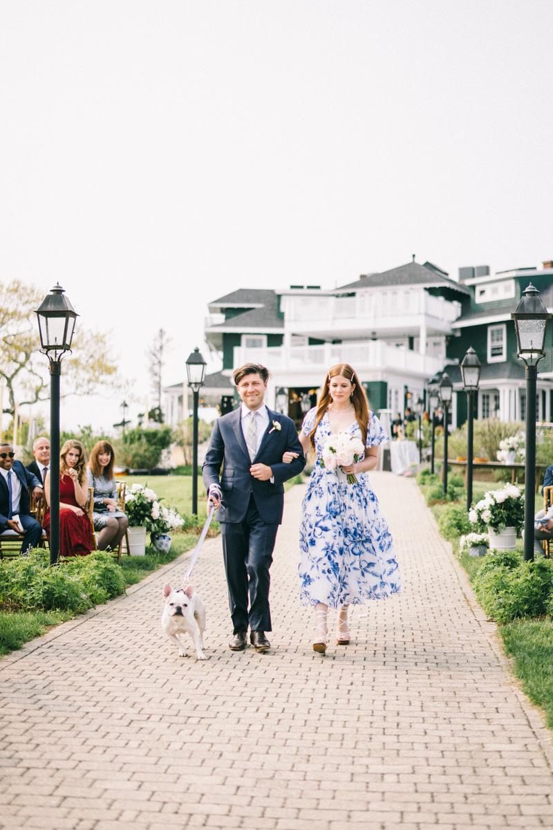 french bulldog wedding