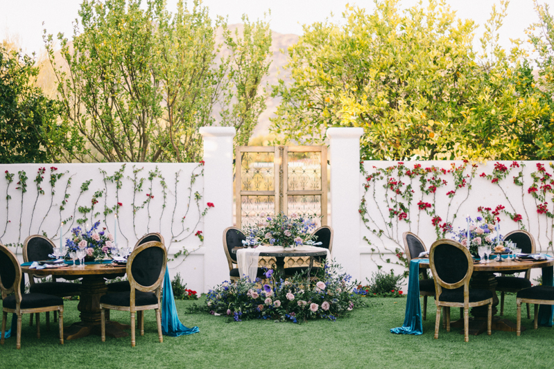 scottsdale Arizona luxury wedding at el chorro