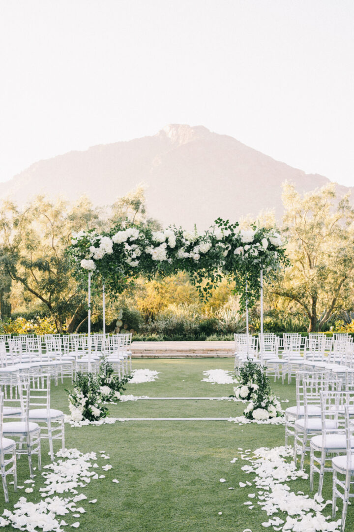 ceremony spot at el chorro scottsdale arizona