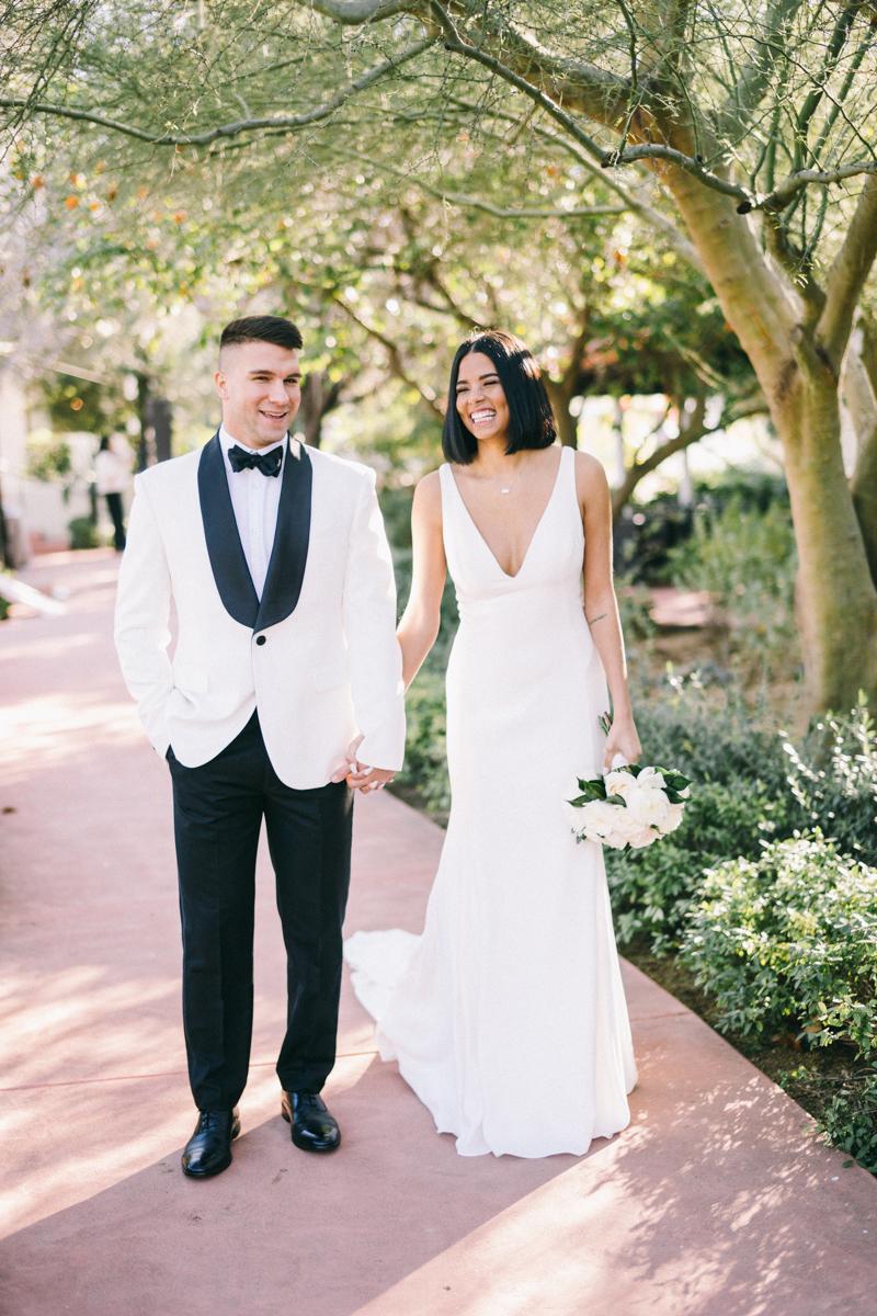 wedding portraits at el chorro scottsdale