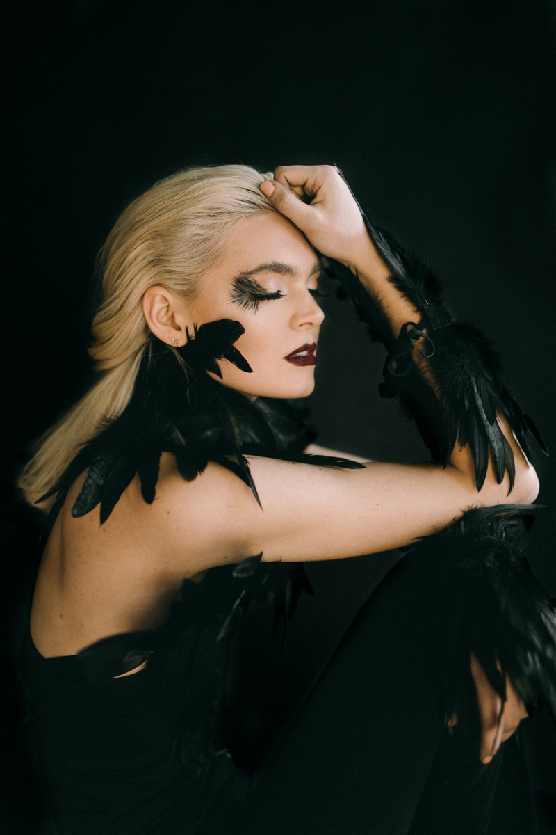 black feather editorial
