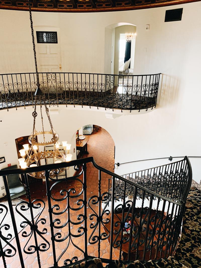 spiral staircase in phoenix arizona venue