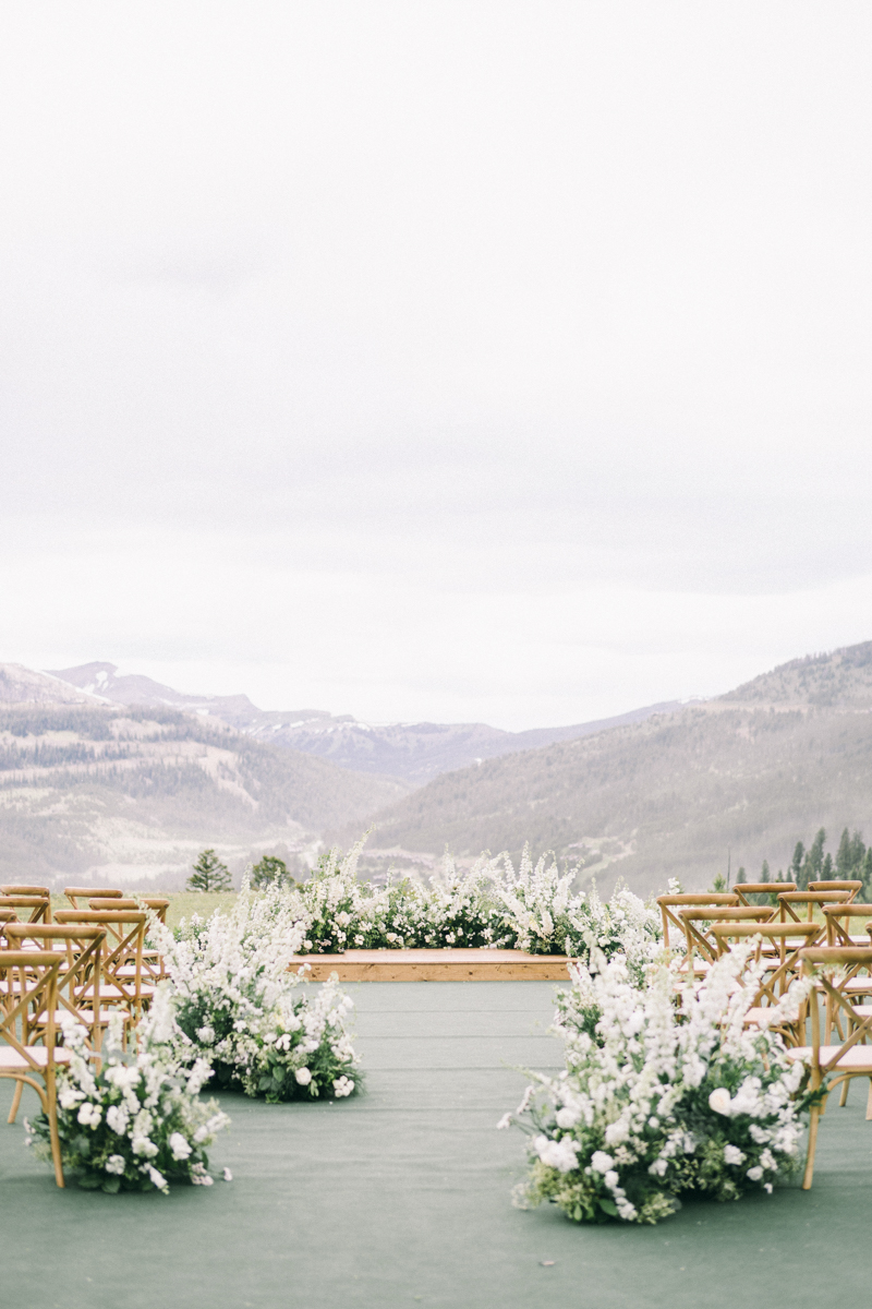 yellowstone club wedding montana the flower hat florist