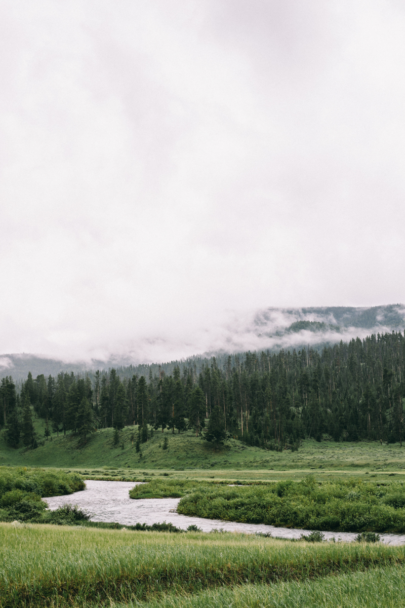 yellowstone national park luxury wedding