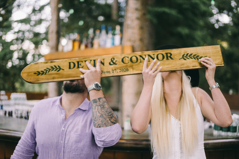 shotski wedding party yellowstone club big skye montana
