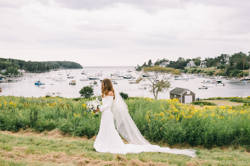 bailey island maine wedding