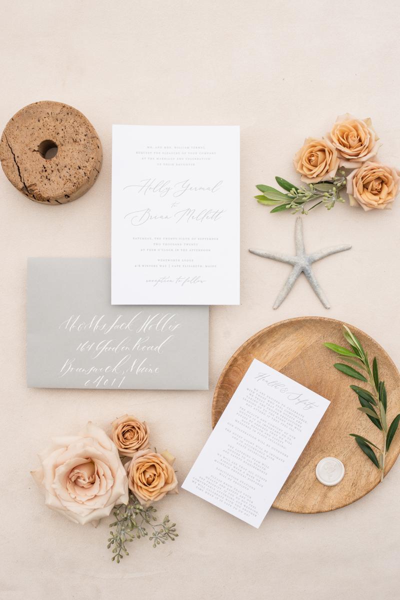 oceanside maine wedding