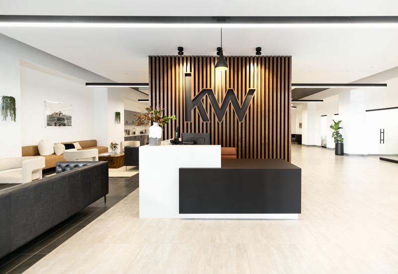 keller williams business center design