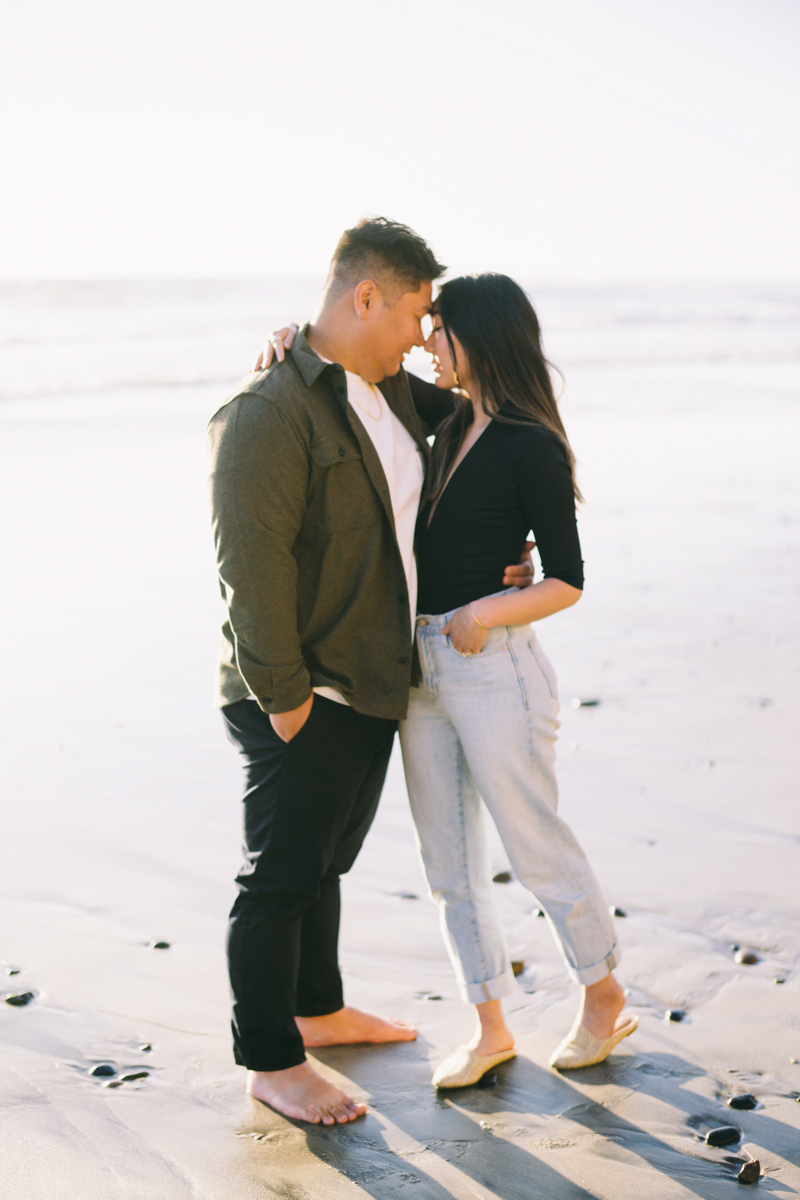 san diego ocean engagement photography