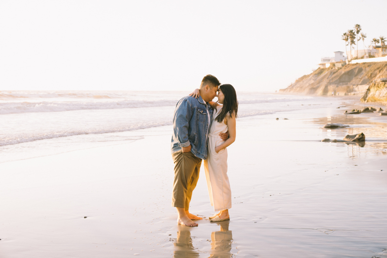 carlsbad cliffs california wedding photos