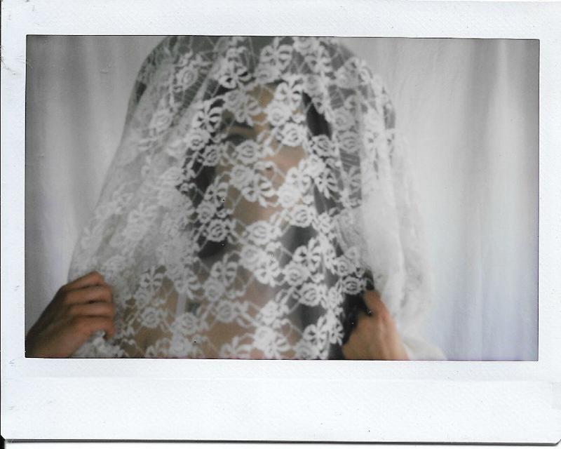 polaroid wedding photos