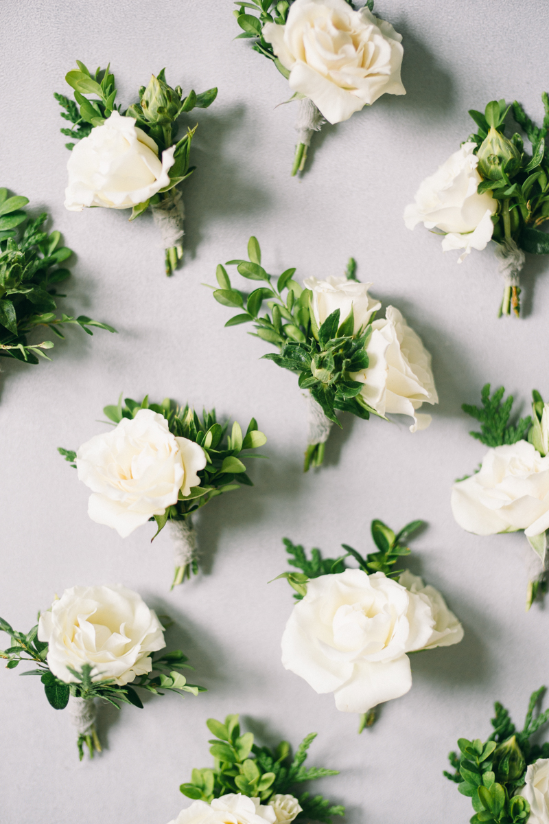 green lori wedding florals