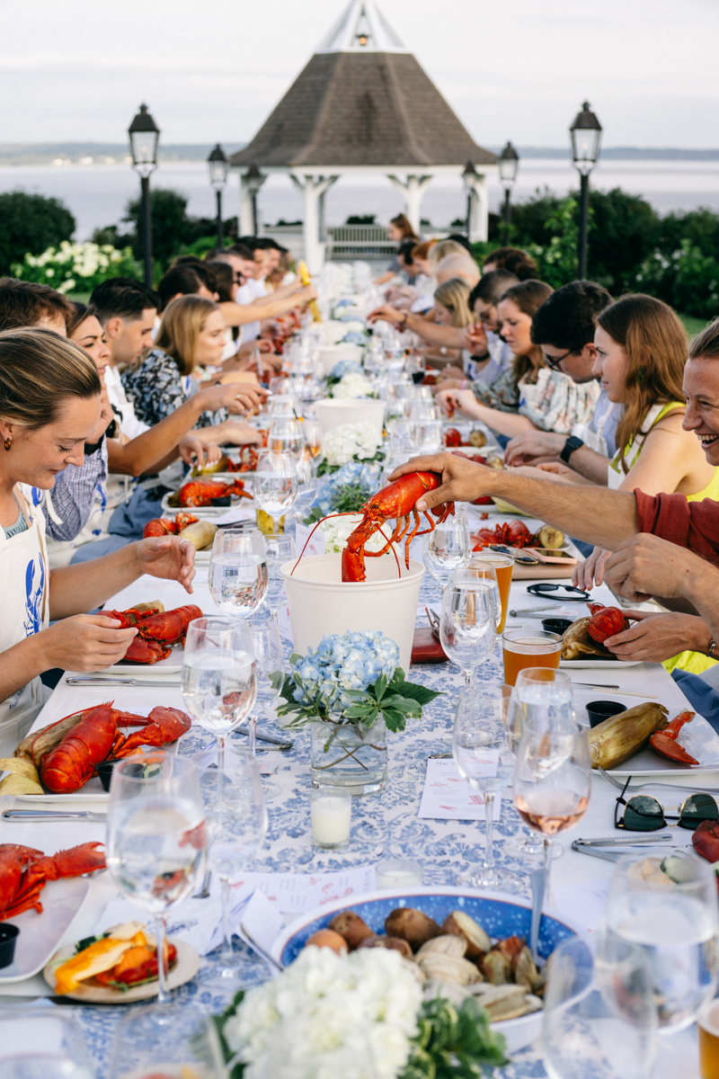 maine lobster bake welcome dinner