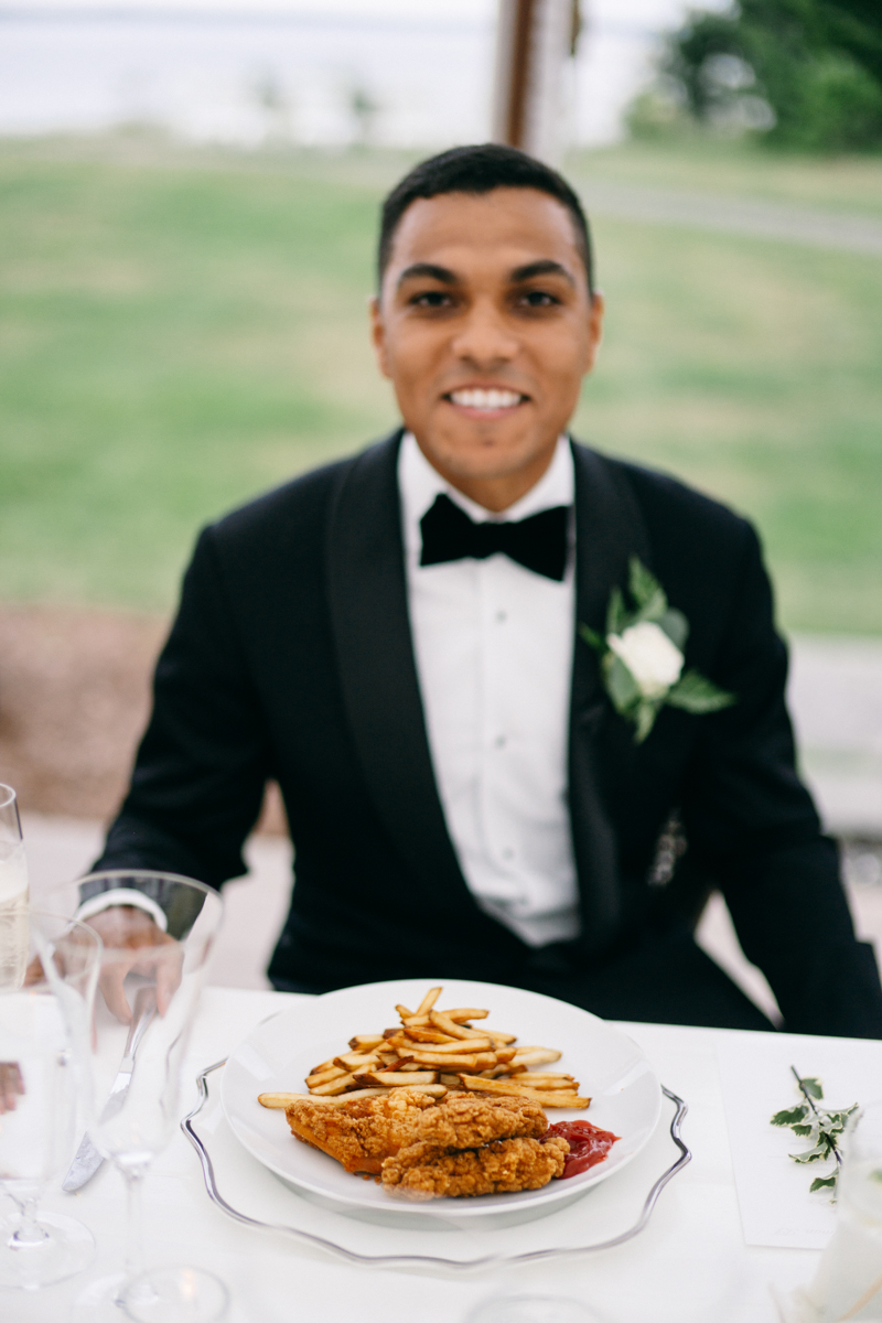 french's point wedding reception