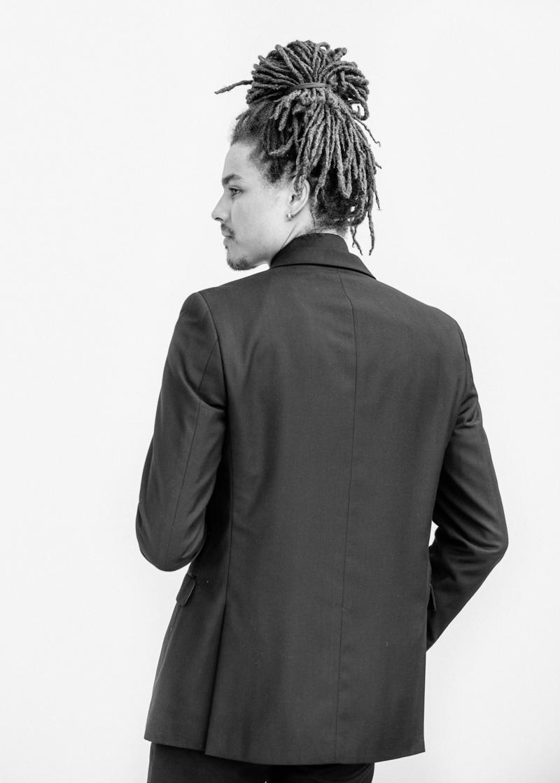 black suit groom scottsdale