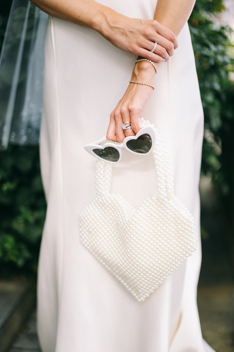 anti bride heart sunglasses