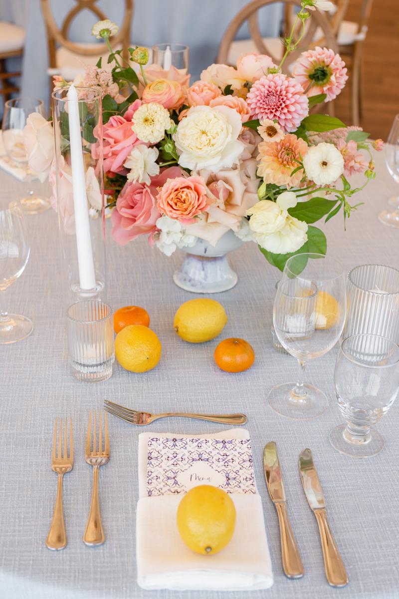 italian themed wedding