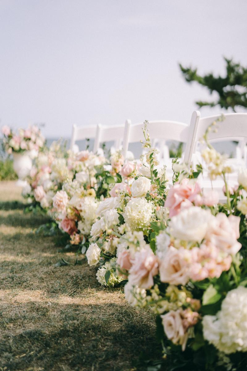 ocean front wedding wianno club