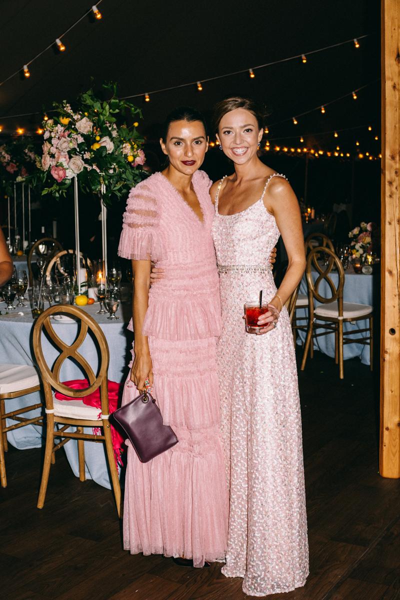 brides second dress