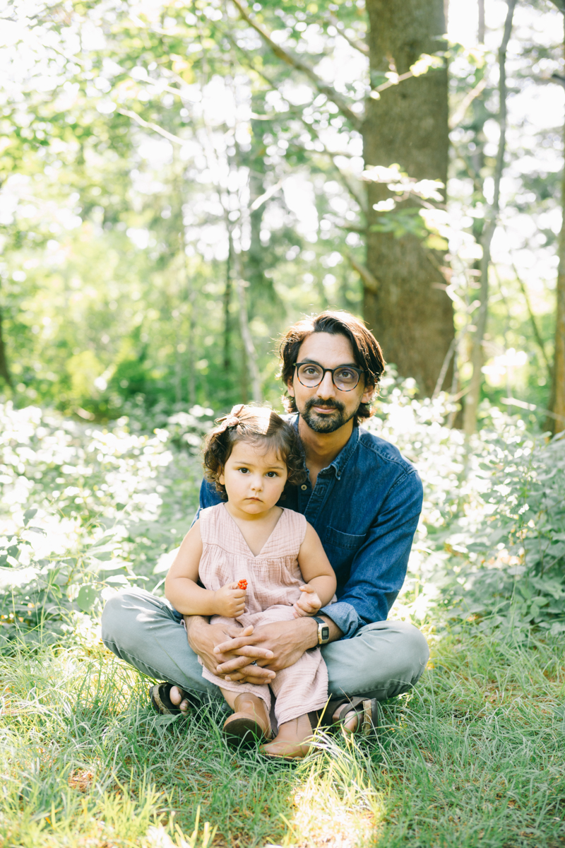family woods photo session